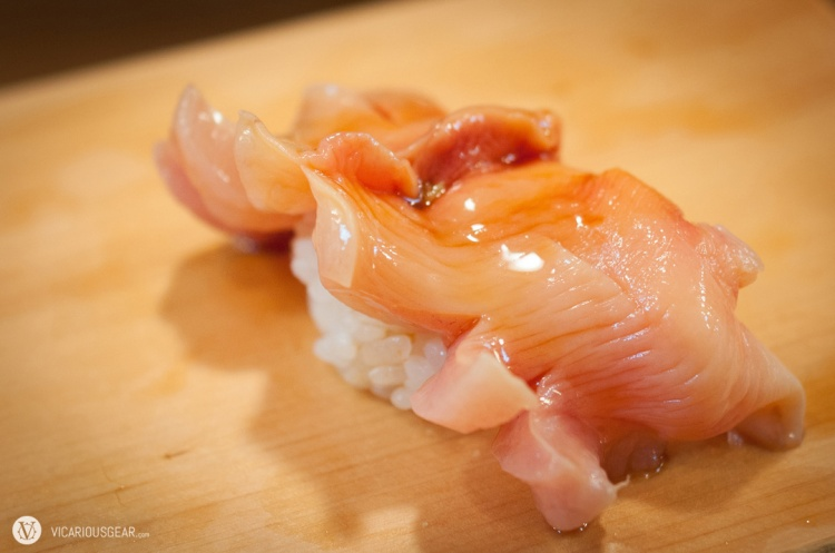 Arc shell clam (akagai)