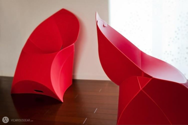 Origami inspired.