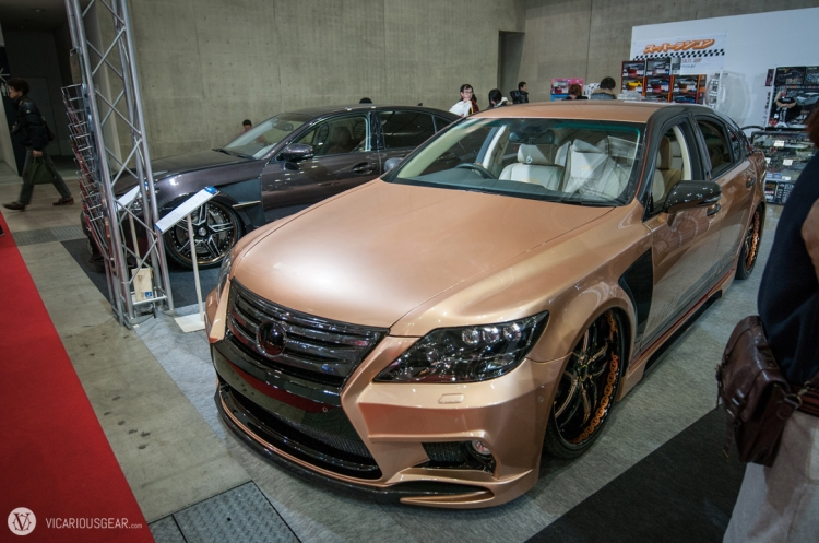 Pair of Lexus GS sedans by JXF Design.