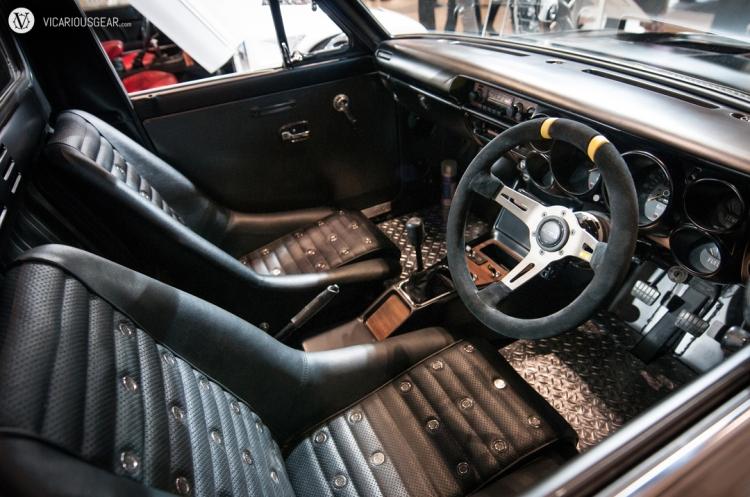 Impressive interior replica.