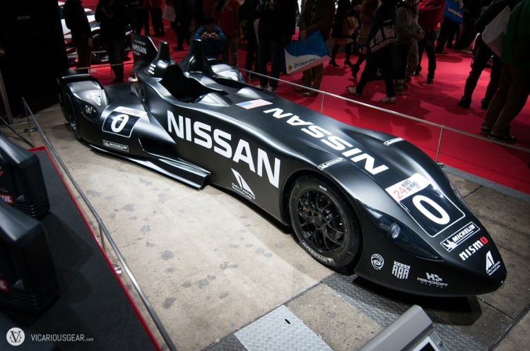 The Deltawing reminded me of the batmobile in Batman Returns.