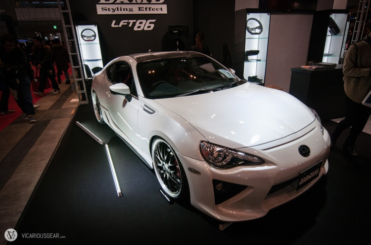 The DAMD LFT86 pulled off the LFA styline conversion pretty well