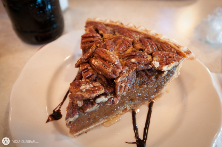 Pappas pecan pie. I just can't get enough of this buttery Texas native seed.