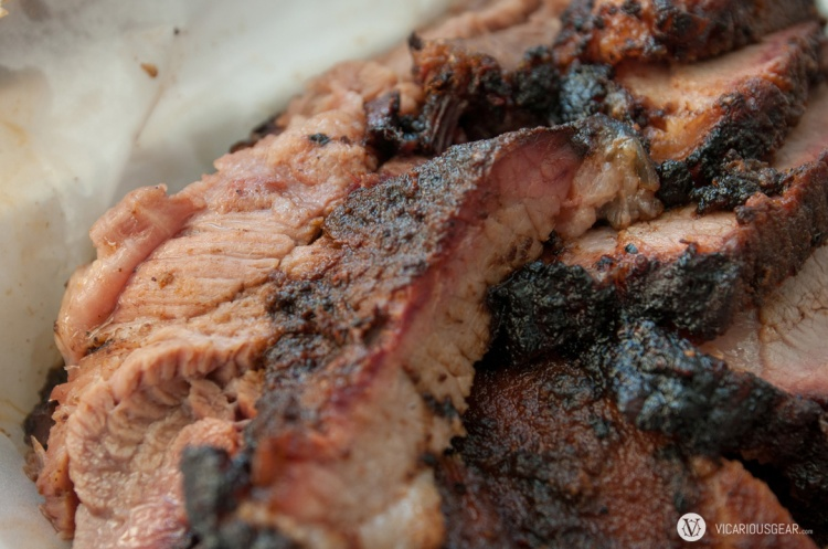 Gatlin's brisket. Really tender and just moist enough without being too fatty.