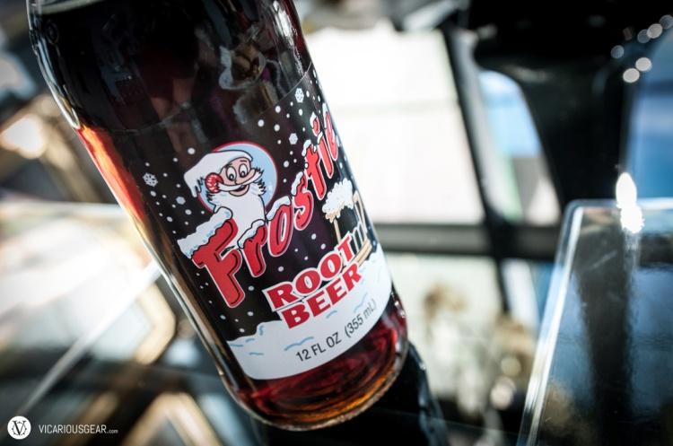 This bottle of Frostie root beer had a cool label and cap. Wouldn't mind having this again.