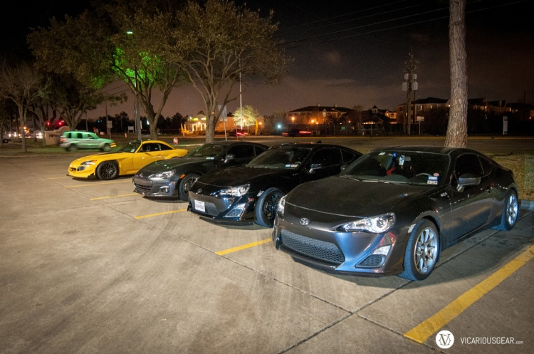 Hangin out with my cousin Victor and the FRS/BRZ crew.