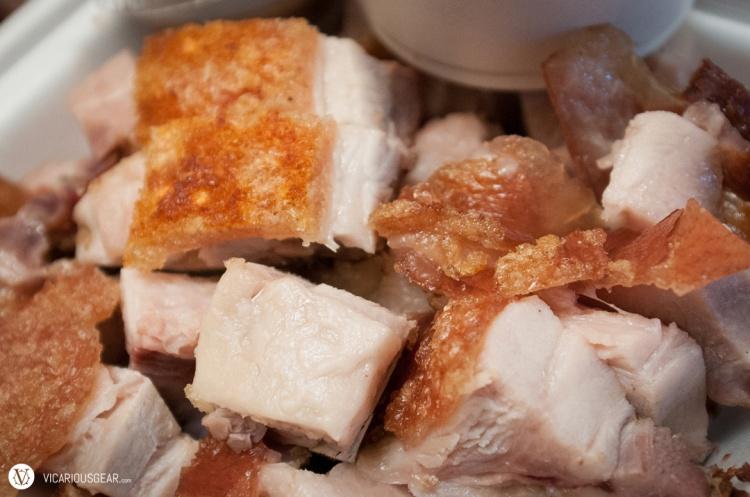 Crispy roast pork. So fatty yet soo good. Also from Hai Nam.
