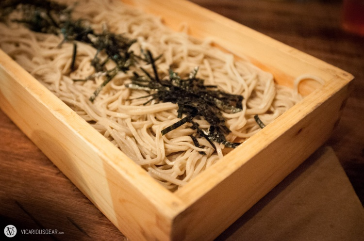 Tororo seiro soba noodles. Tastes pretty much the same as other places with a much higher price.