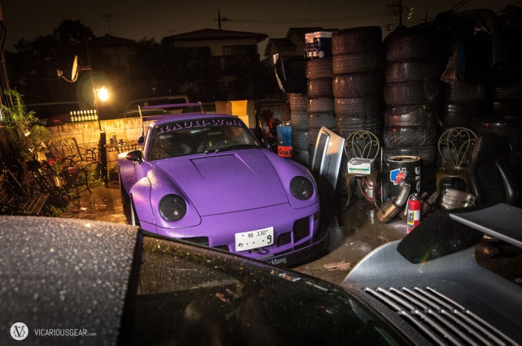 Nakai-san's purple turbo 993 would be sitting out this race.