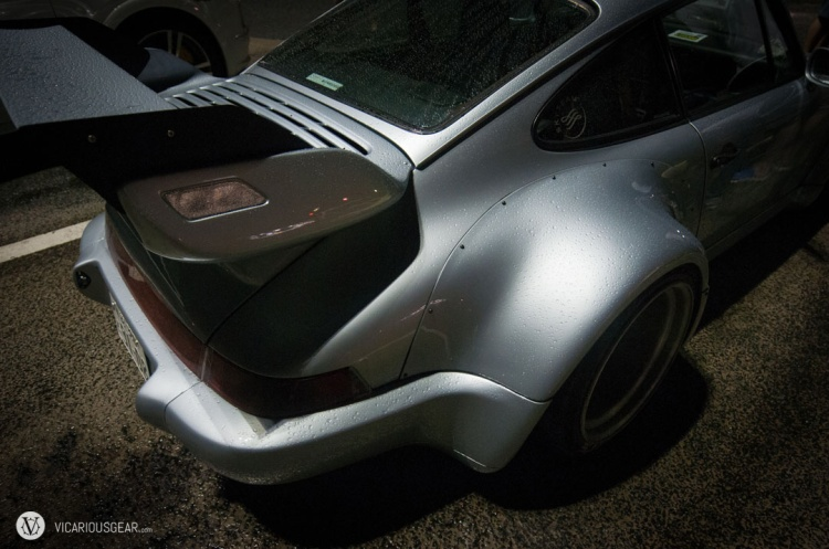 """The new super wide """"Royal"""" fenders for the 964. Not so fun in the narrow Japanese side streets."""