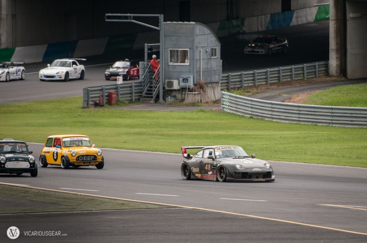 Outrunning the sub 2 litre contingent.