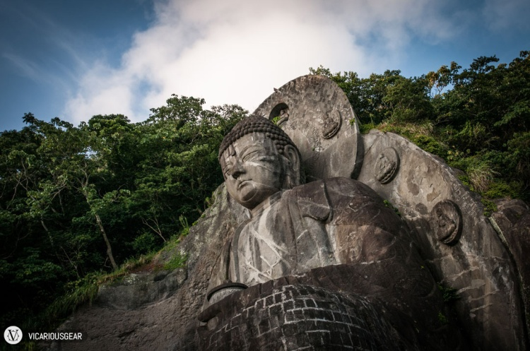 The halo was filled with smaller likenesses of Buddha.