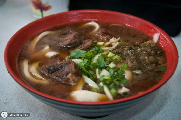 Fortunately we got what we wanted. Beef noodle soup...