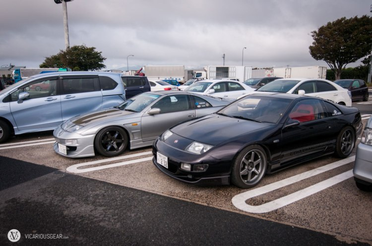 These Z32 Fairladys passed me on the way to Ebina PA