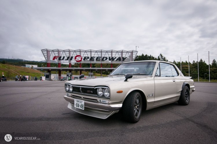 Shortly afterwards, I reached the main entrance to Fuji Speedway. I took the opportunity to do the touristy thing and capture the hakosuka here.