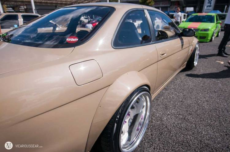 Nicely matched tires and flares on this Soarer