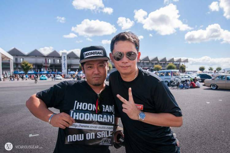 It is always great to run into a few friends. Daisuke who runs Oval auto on the left and Jeab from Thailand on the right.