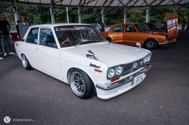 While the styles looked great on some cars like this  Datsun 510