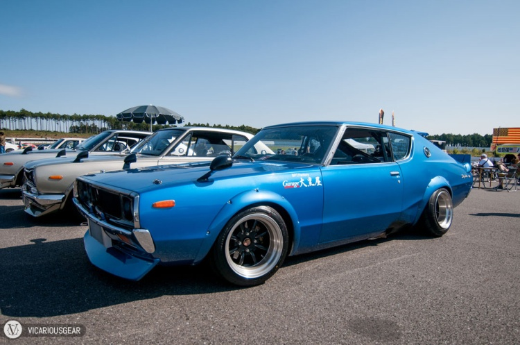 The blue looked awesome on this Kenmeri.