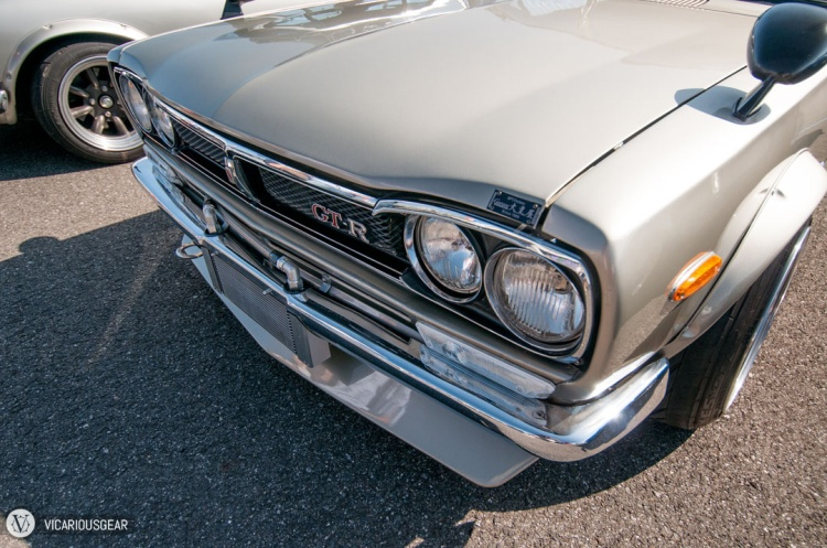 Which do you prefer? A nice and clean front end with all the chrome trim and tucked in oil cooler...
