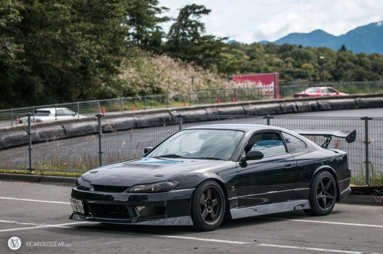 A sinister S15 waiting on its turn to play.