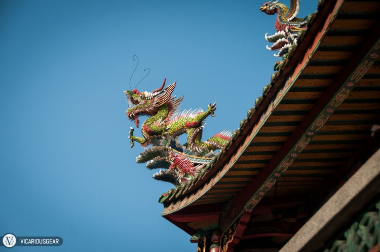 More dragons to accompany the temple's name.