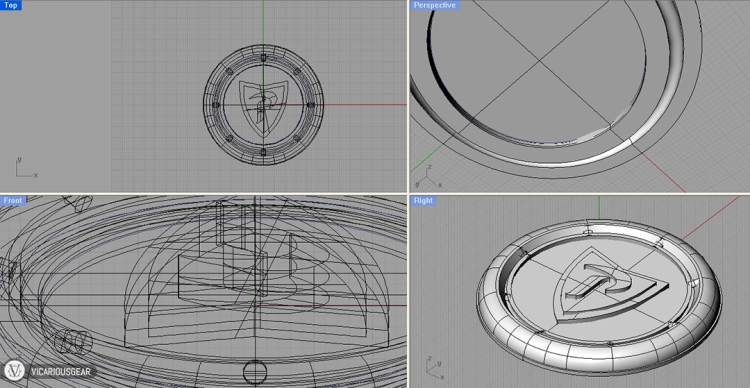 The first step was to use 3D modeling software to create my idea. Then after sending the file to a printing service and waiting a couple weeks...