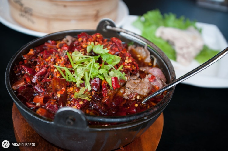 Spicy Chili Beef. I guess if you love eating chilis alone, this was alright. The beef was pretty cheap and the chili oil wasn't particularly fragrant.