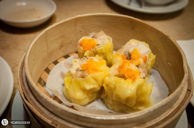 Pork shumai (燒賣). The skin had a nice texture as you bite into it instead of just being super soft.