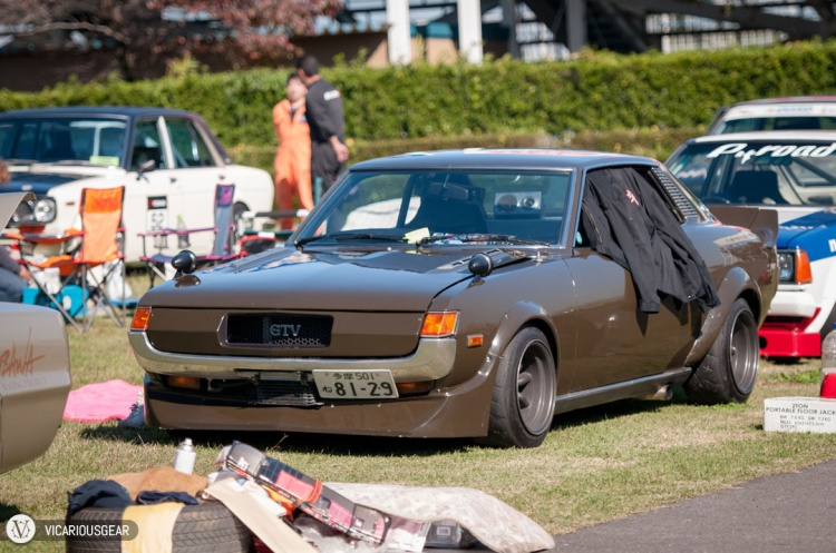 One of my favorite first gen Celicas. I had only seen it online before this event. The owner was resting inside under the shade of that black shirt.