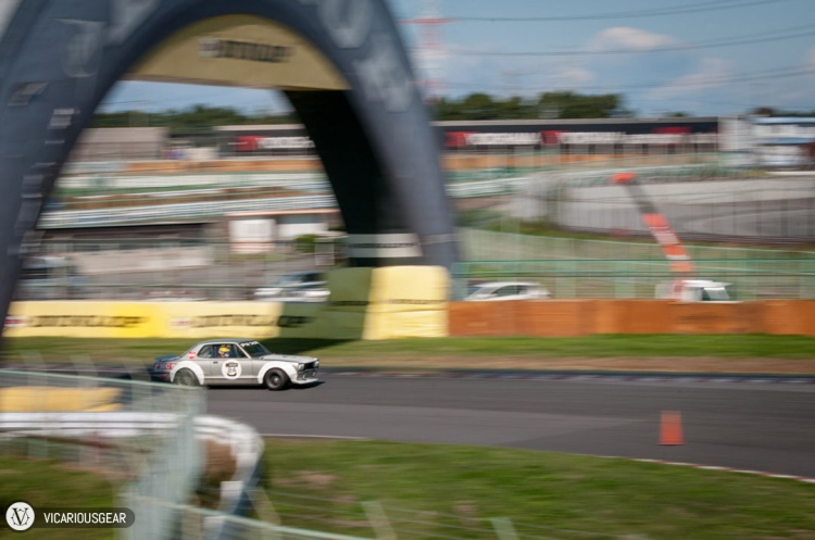 Something about cars going through the Dunlop arch was pretty cool.
