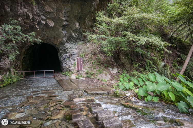 The entrance. By this time, walking into dark caves felt normal.