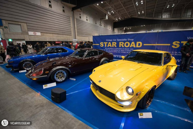 Across the aisle was Star Road. One of my favorite tuners/restorers. Their display cars are always immaculate.