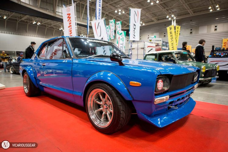 I love this shade of blue, just not on the Hakosuka.