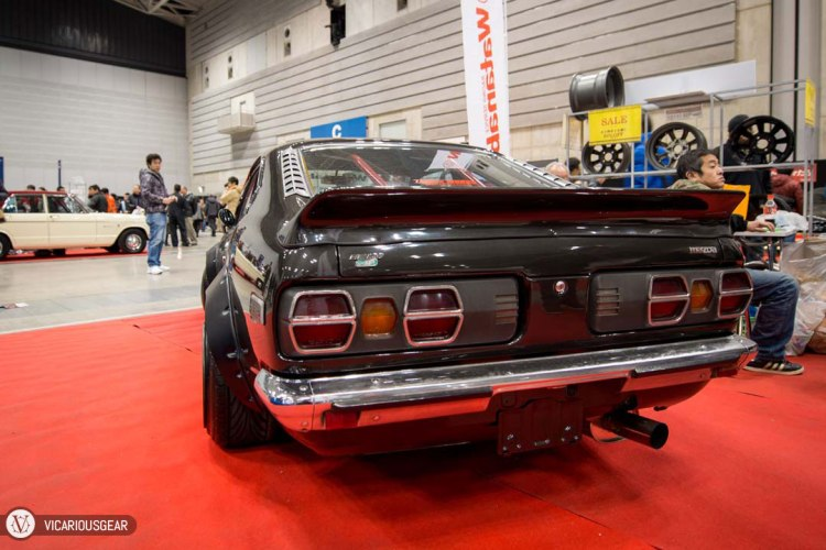 However, one thing I always found odd on the RX-3 design was the tail light housings. It still baffles me that they chose to use these huge plastic boxes to contain the light fixtures.