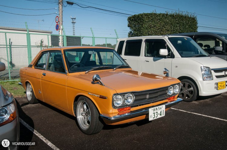 What are the chances of seeing two orange 510s on the same day?