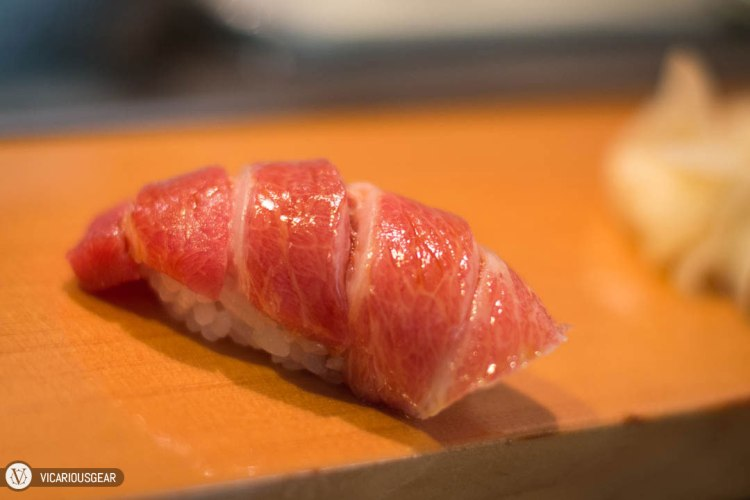 Maguro Tuna. Melt in your mouth fatty deliciousness.